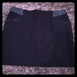 Never worn black mini skirt- 8